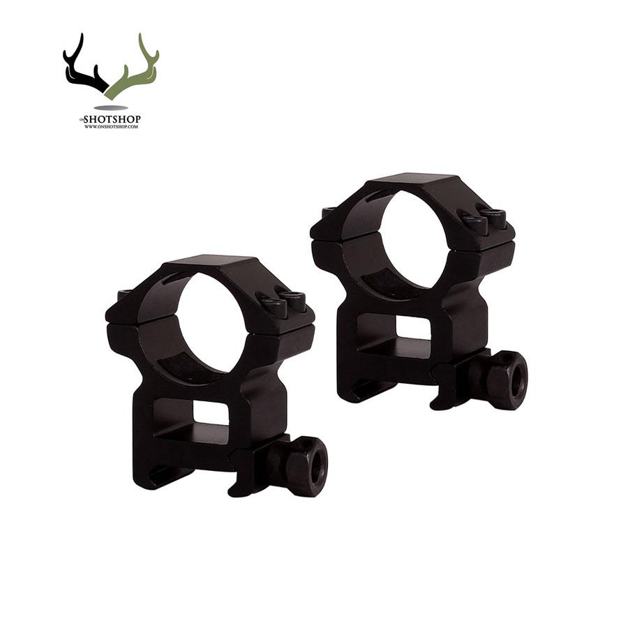 پایه دوربین تفنگ بادی ریل 22 رینگ 25