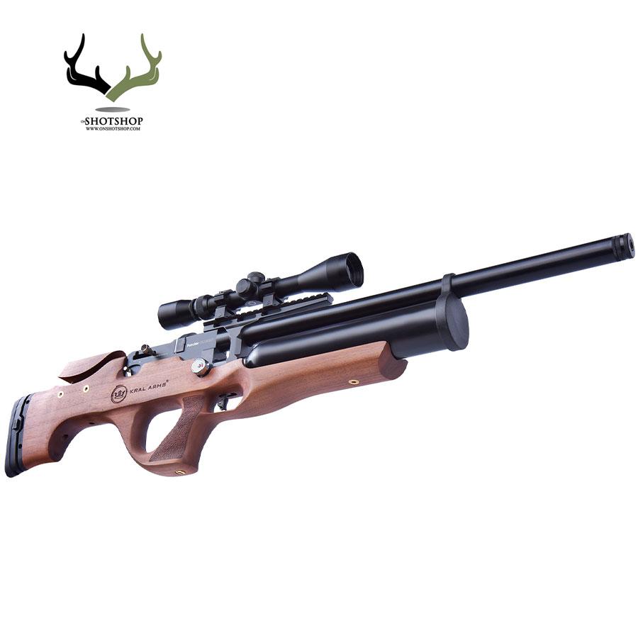 تفنگ بادی pcp کرال بریکر NX500 چوبی